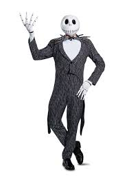Jack Jack Halloween Costume Jack Skellington Prestige Costume Men
