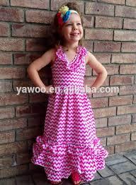 lovely baby girls boutique style zig zag dress kids beach wear