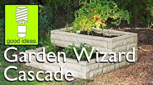 Greenes Fence Raised Beds by Garden Wizard Cascade Multi Tiered Raised Bed Garden Youtube