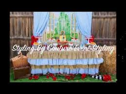 Wizard Of Oz Party Decorations Wizard Of Oz Birthday Party Little Wish Parties Childrens Party