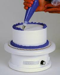 rotating cake stand turntables cake decorating