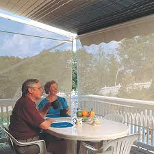 Retractable Awning With Screen Retractable Awning With Bug Screen Eclipse Shade Systems Private