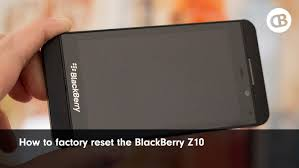 reset ulang blackberry id how to factory reset wipe the blackberry z10 youtube