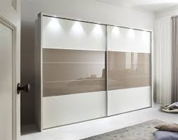 Mirror Sliding Closet Doors For Bedrooms Mirror Design Ideas Wood Glass Wardrobe With Mirror Sliding Doors
