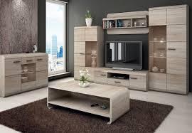 Wohnzimmer M El Sonoma Eiche Wohnwand Anbauwand Home Design Und Möbel Interieur Inspiration