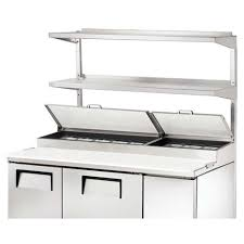 Pizza Prep Tables True 915015 Double Overshelf For 67 1 4