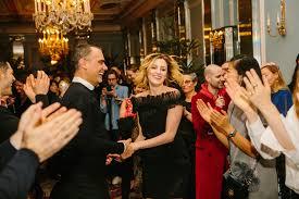 massimiliano di battista and actress laura carmichael dancing to