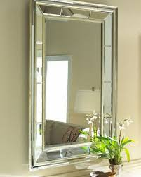 Beveled Bathroom Mirror by Tips For Decorating With Wall Mirrors