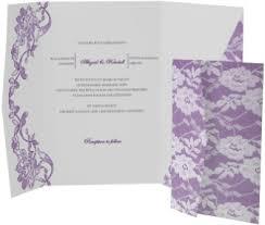 Lavender Wedding Invitations Shop Purple Wedding Invitations Magnetstreet