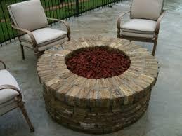 Brick Firepits Custom Wood Burning Or Gas Pits