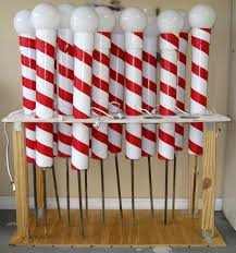 Make Your Own Christmas Light Decorations by Diy Christmas Decor Prop Outside Back In 2007 I Made North