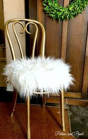 safavieh georgia vanity stool white and pink vanity chair