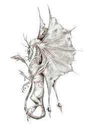 dragon sketch by arboris silvestre on deviantart