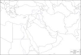 Saudi Arabia Blank Map by South West Asia Free Map Free Blank Map Free Outline Map Free