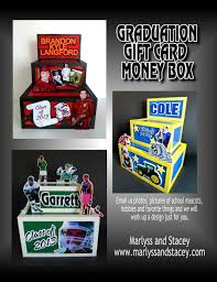 graduation money box musing with marlyss graduation centerpiece gift card box ideas