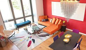 Solid Color Rug Living Room Awesome Bright Solid Colored Area Rugs With Orange