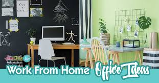 work from home office 5 fun work from home office ideas artsy fartsy life