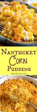 nantucket corn pudding recipe corn casserole