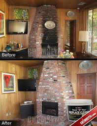 Cleaning Bricks On Fireplace by The 25 Best Brick Cleaner Ideas On Pinterest Flower Bed Edging