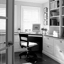 huge corner white desk with shelves on charcoal laminate wood