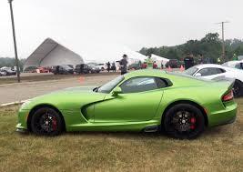 Dodge Viper Green - viper u0027s parting gift five limited edition models wciv