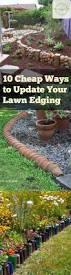 Diy Landscaping Ideas 25 Beautiful Cheap Landscaping Ideas Ideas On Pinterest