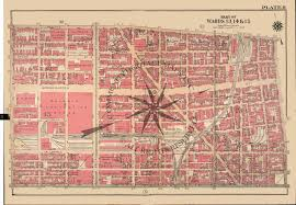 Philadelphia Pa Map Antique Bromley Atlas Map Print Of Philadelphia Pennsylvania