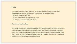 cover letter ability summary resume examples summary
