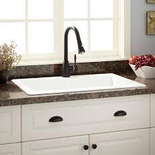 Drop In Farmhouse Kitchen Sink 33 Ignacio Drop In Granite Composite Sink Eggshell White