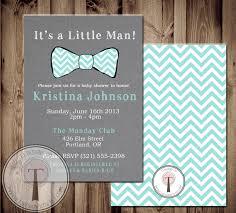 little man printable invite baby shower invitation baby boy