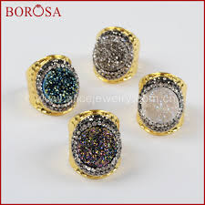 Geode Ring Box Compare Prices On Color Stone Ring Design Online Shopping Buy Low