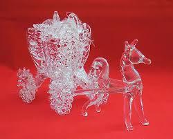 silvestri spun glass cinderella s coach ornament spun