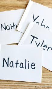 name books for preschool and kindergarten