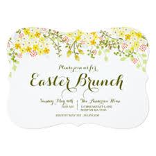 easter brunch invitations announcements zazzle
