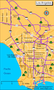 los angeles map pdf los angeles the los angeles directory