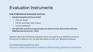 earth educators u0027 rendezvous workshop leader webinar introduction