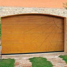 porte sezionali per garage porte sezionali per garage in legno automatiche ad arco