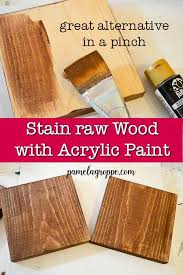 is it better to paint or stain your kitchen cabinets how to stain wood with acrylic paint staining wood