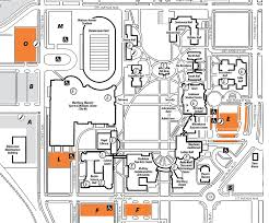 Colorado College Campus Map by Visitor Parking Wartburg College