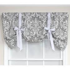 Tie Up Valance Kitchen Curtains Tie Up Valances U0026 Kitchen Curtains You U0027ll Love Wayfair