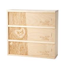 personalized wooden gifts anniversary wine box personalized wedding wine box uncommongoods