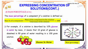 solutions solutions class 12 chemistry subject notes lectures cbse