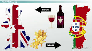 importing and exporting in a global market definition process