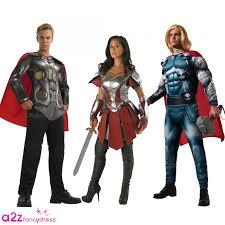 thor halloween costume thor sif avenger assemble marvel mens ladies superhero fancy