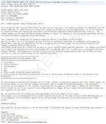 company offer letter template candidates be aware of fake companies fake offer letters and back