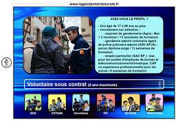 bureau de recrutement gendarmerie gendarme adjoint volontaire gav apja ou ep renseignements divers