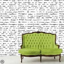temporary wall paper removable wallpaper love letter just peel and stick self