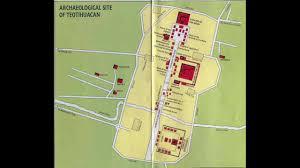 Teotihuacan Map Teotihuacan English Youtube
