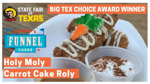 fernie u0027s holy moly carrot cake roly fernies funnel cakes youtube