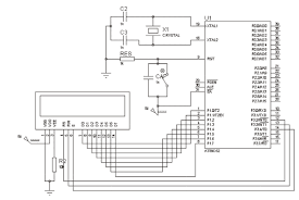 microcontroller electronicswork lcd interface with wiring